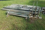 (2) Sets Of 5ft x 10ft Aluminum Scaffolding