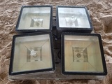 (4) Security Lights