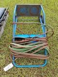 O&A Cart W/ Cutting Torch, Brashing Tip, Gauges &