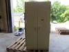 "2 Metal storage cabinets 3'X6'x19"""