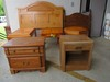 Full & twin headboard, 2 night stands, 3 end table