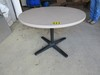 "42"" Round table w/metal base"