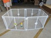Plastic portable play pen
