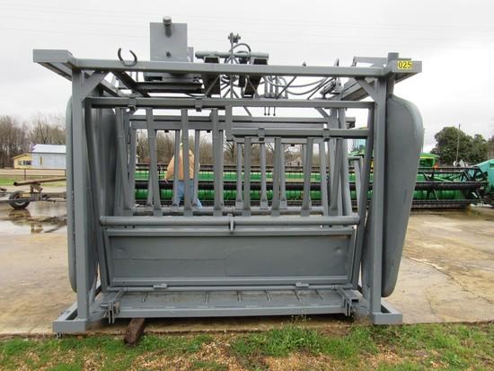 WW hydraulic electric squeeze chute
