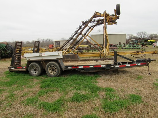 16' Tandem axle tlr w/fold up ramps NO TITLE