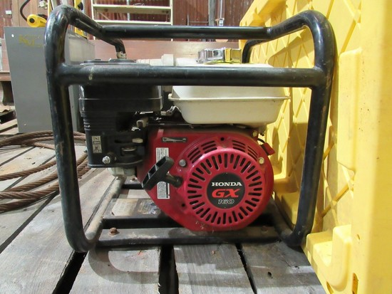 Water pump w/honda engine