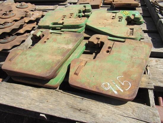 John Deere tractor weights (10)