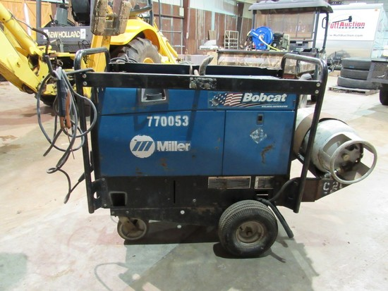 Miller Bobcat 250 Propane welder on wheels