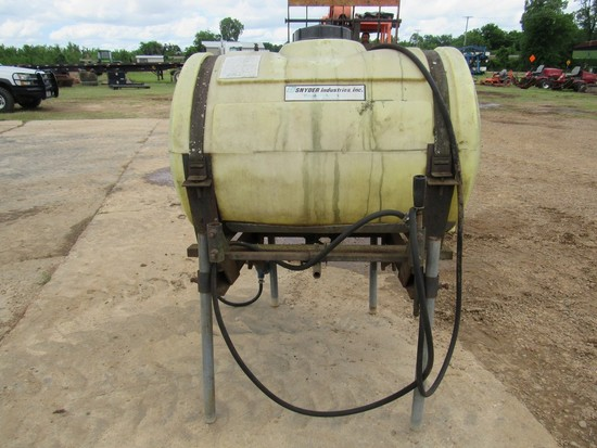 Snyder Industries Inc spray rig-approx 60 gallons