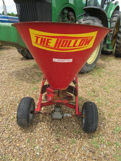 The Hollow SP150 AL spreader type 2