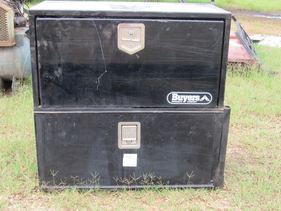 Buyers Products Co 2-Under body tool boxes (Black)