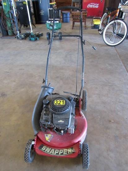 Snapper Push Mower - self propelled
