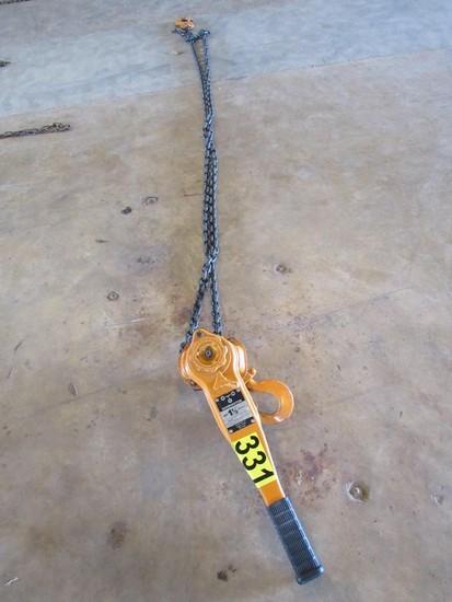 Harrington 1.5 ton Lever Chain Hoist