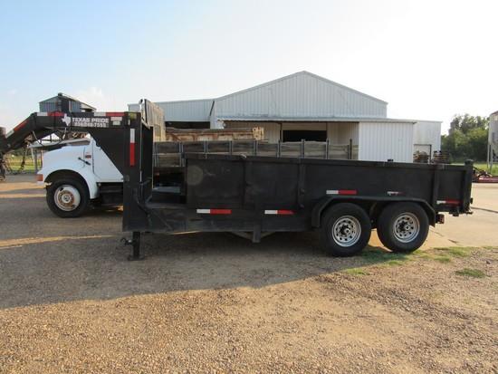 2012 Texas Pride GN Dump trailer
