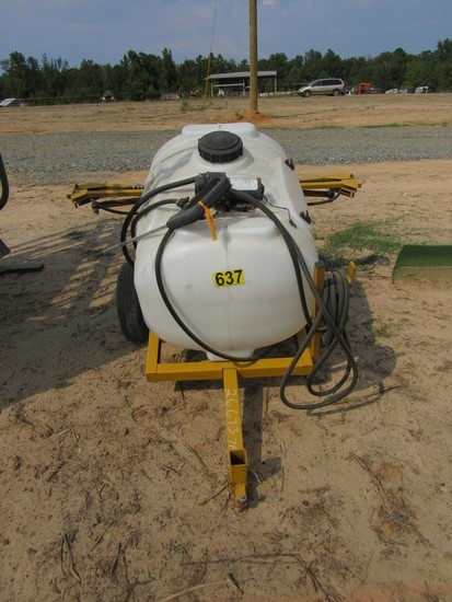 Trailer Mounted Sprayer with Boom