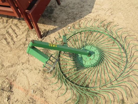 JD wheel for hay rake