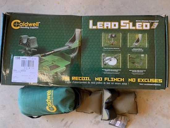 Caldwell Shooting Supplies Lead sled & weights