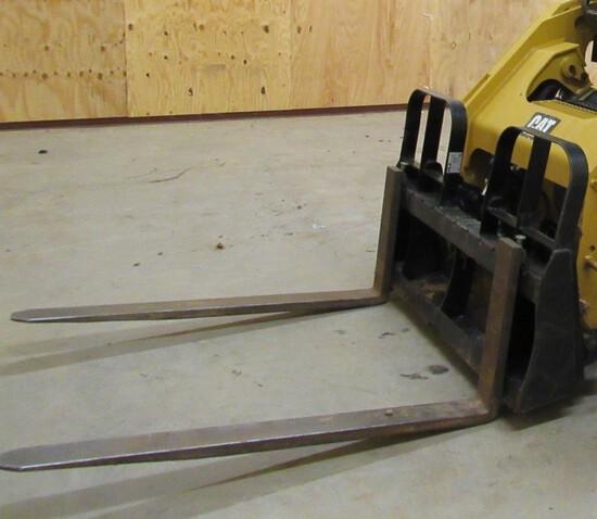 "48"" Pallet fork for skid steer"