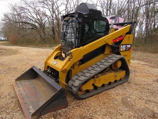 2016 Cat 299D2 XHP Track loader w/bucket