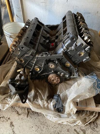 444E Long Block Engine