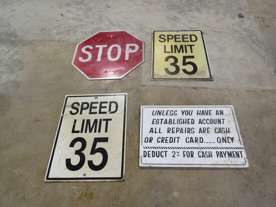 Lot of Street Signs