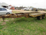 Pintle hitch trailer - NO TITLE