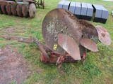 Turning plow for IH tractor
