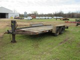 16' Wooden floor trailer