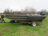 WeldBuilt 1660 Alum Boat with 150 Evinrude