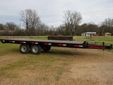 Performance 20' flatbed trailer with MSO
