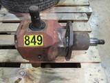 6ft Bush hog gear box assembly - welded