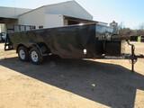 Performance landscape trailer with MSO - 16ft