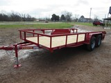 Tiger 16' bumper pull trailer with MSO