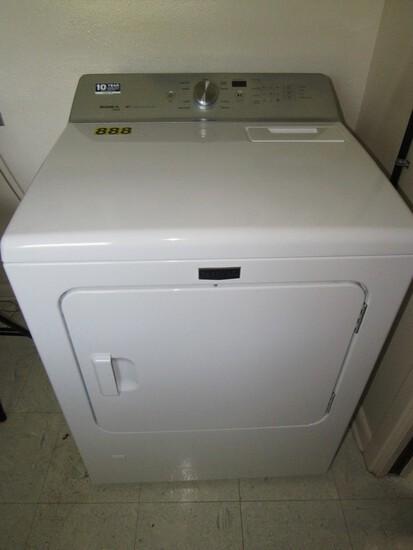 Maytag gas dryer Bravos XL steam