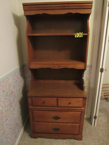 Bookshelf w/drawers