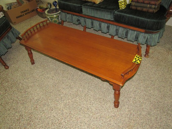 Tell City Young Republic maple coffee table