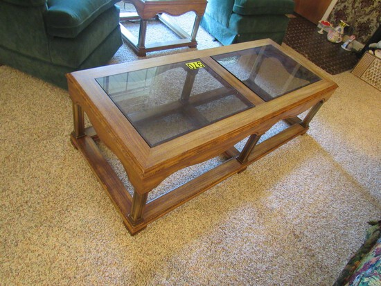 Set of 2 end tables & 1 coffee table