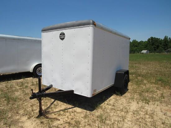 Wells Cargo 6' x 10' enclosed trailer NO TITLE
