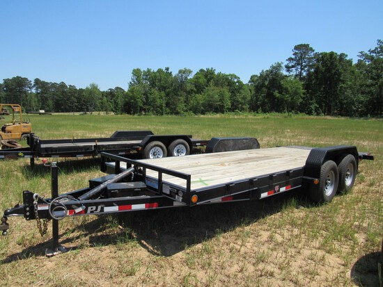 PJ hydraulic tilt trailer NO TITLE
