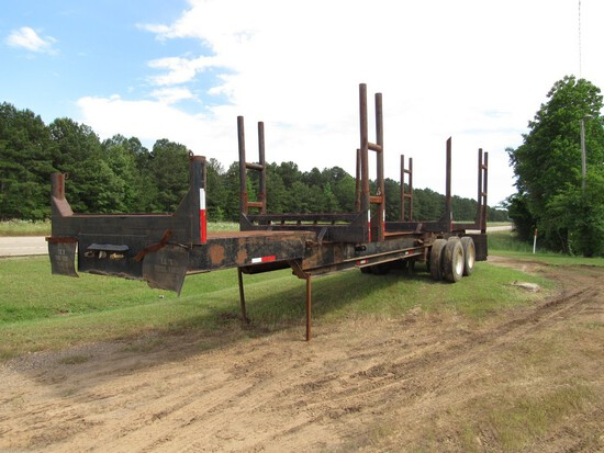 40' 4 Bunk log trailer NO TITLE