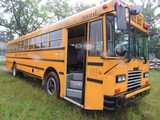 1992 Am Tran Flat Nose School Bus