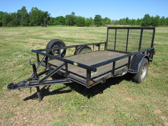 2013 6' x 10' Single axle utility trailer NO TITLE