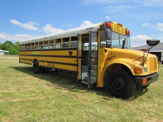 2002 International AmTran School Bus