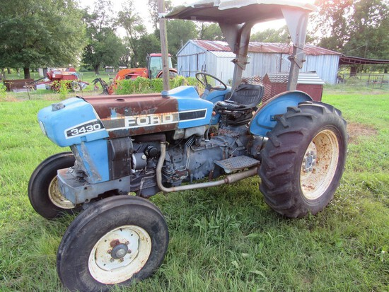 Ford 3430 diesel tractor