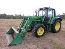 John Deere 6430 premium cab diesel tractor