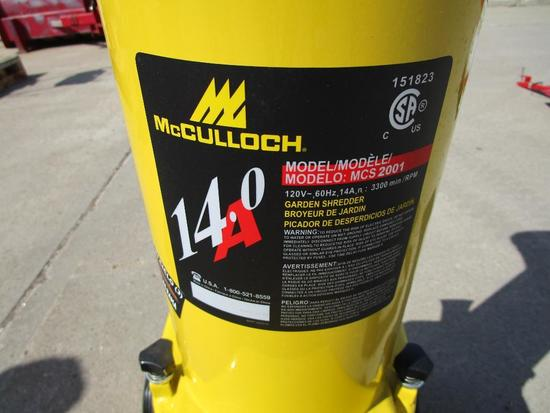 McCulloch Electric chipper
