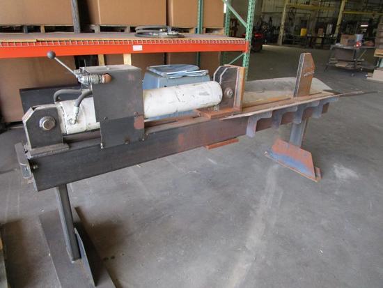Hydraulic log splitter, 31 in stroke