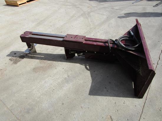 Upside down 24 in. Skid Steer log splitter (shop built)