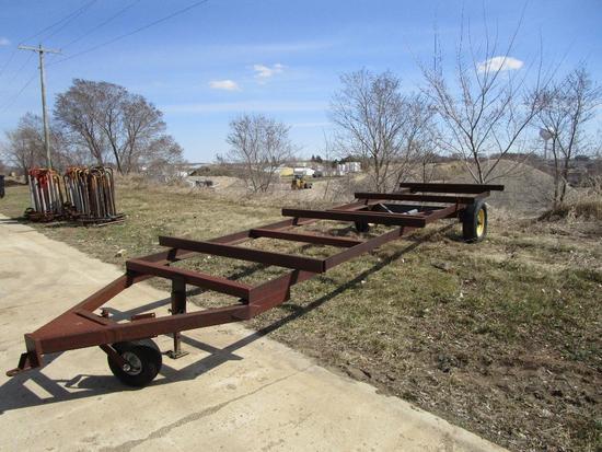 2 wheel trailer frame