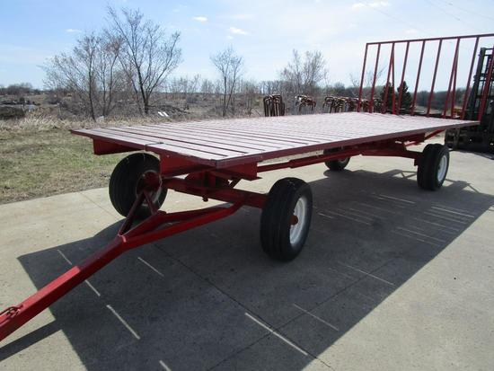 20 ft flatbed wagon